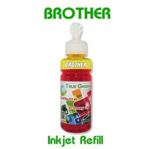 หมึกเติมอิงค์เจ็ท for Brother เหลือง YL