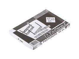 DF027 ลิ้นแฟ้ม Fasteners 8 CM โลหะ (50คู่/กล่อง)