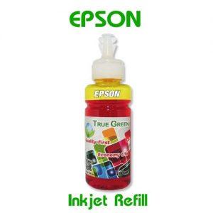 หมึกเติมอิงค์เจ็ท for Epson เหลือง YL