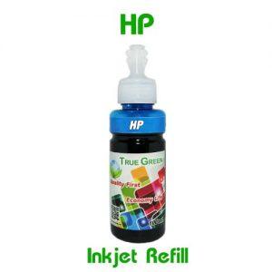 หมึกเติมอิงค์เจ็ท for HP ฟ้า CY