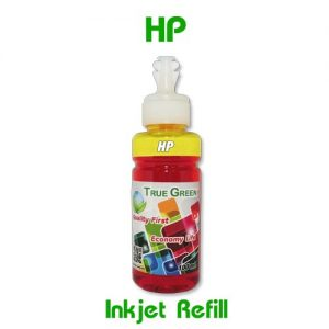หมึกเติมอิงค์เจ็ท for HP เหลือง YL