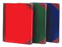 PP038 สมุดปกแข็งมุมมัน 5/100 หนา 70 แกรม Pr Product (100แผ่น/เล่ม)