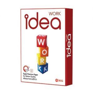 PP042 กระดาษปอนด์ A4 80g Idea Work (500 แผ่น/ห่อ)