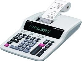 SB001 ครื่องคิดเลขชนิดกระดาษบันทึก 12 หลัก CASIO DR-120R-WE (เครื่องใหญ่)