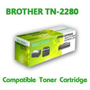 ตลับหมึกพิมพ์เลเซอร์ Brother TN-2280 (HL-2240D/2250DN/2270DW, DCP-7060D, MFC-7360/7470D/7860DW) เทียบเท่า