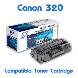 ตลับหมึกพิมพ์เลเซอร์ Canon IC D-1120/ D1150/ 1170/ D1180/SateraM6780/ M6880 (Cartridge-320) เทียบเท่า