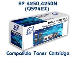 ตลับหมึกพิมพ์เลเซอร์ HP 4250, 4250N (Q5942X) เทียบเท่า