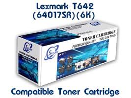 ตลับหมึกพิมพ์เลเซอร์ Lexmark T642 (64017HR) เทียบเท่า